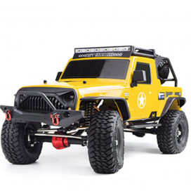 COCHE CRAWLER PRO 1/10 RGT86100PRO-Y WATERPROOF 4X4 AMARILLO KIT
