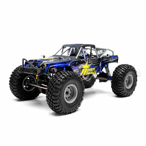 ROCK HAMMER 4X4 RTR 1:10 WATERPROOF BLUE RGT1800-B