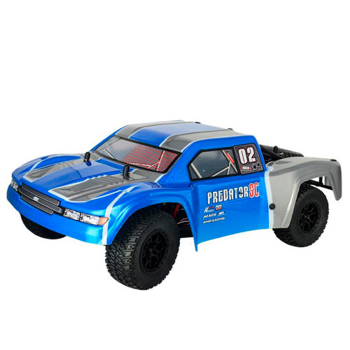 PREDATOR 4X4 RTR 1:10 WATERPROOF BRUSLESS 80A 3600KW BLUE HNR9805-B