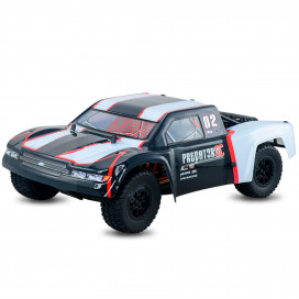 PREDATOR 4X4 RTR 1:10 WATERPROOF BRUSHLESS 80A 3600KW BLACK HNR9805-BLK