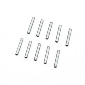2.5x14.8mm CHROME STEEL PIN SET (10pcs.)