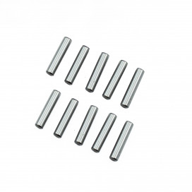 3x13.8mm CHROME STEEL PIN SET (10pcs.)