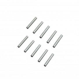 2.5x15.8mm CHROME STEEL PIN SET (10pcs.)