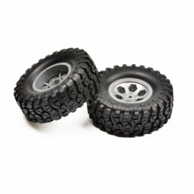 PRE-MOUNTED TIRE SET TYPE 1 (GREY) 136100V2