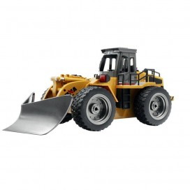 HUINA 1586 1/18 2.4G 6CH ALLOY RC SHOVEL SNOW ENGINEERING TRUCK