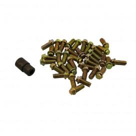 HEX SCREW FOR BEADLOCK CRAWLER WHEELS W/ NUT TOOL M2.0x5mm (30pcs/set)