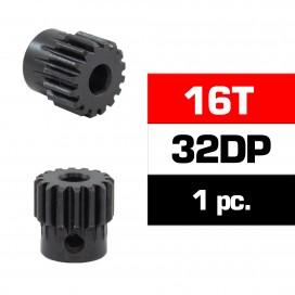 HSS STEEL 32DP PINION GEAR 16T W/5.0mm BORE