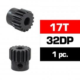 HSS STEEL 32DP PINION GEAR 17T W/5.0mm BORE