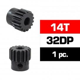 HSS STEEL 32DP PINION GEAR 14T W/5.0mm BORE