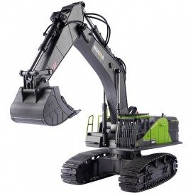HUINA 1593 1/14TH SCALE RC EXCAVATOR 2.4G 22CH w/DIE CAST BUCKET