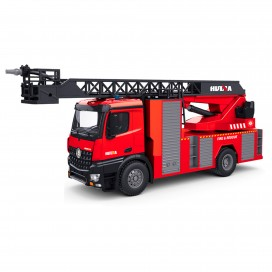 HUINA 1561 1:14 2.4GHZ 22-CH FIRE FIGHTING RC TRUCK W/ WATER SPRYING LADDER