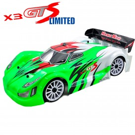 X3GTS 1/8 4WD NITRO ON-ROAD GT 2020 LIMITED KIT