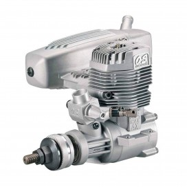 OS MAX-95AX 2ST GLOW AIRPLANE ENGINE (61C) W/E-4040 SILNCER