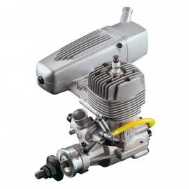 OS GT15 2ST GASOLINE AIRPLANE ENGINE (61H) W/E-4040 SILENCER