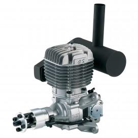 OS GT60 2ST GASOLINE AIRPLANE ENGINE W/E-6020 SILENCER