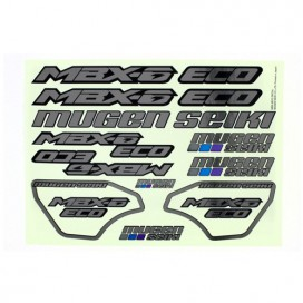 MBX6 ECO METALLIC DECAL